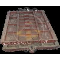 Плита дробящая неподвижная  254-0-0-1А (шаг 40) СМД 741