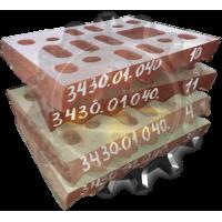 Плита дробящая 3430.01.040