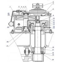 Вал-шестерня 1080.16.02-1  z-11 m-10