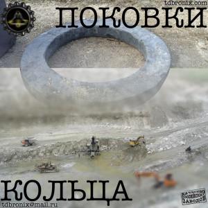 Поковка кольцо